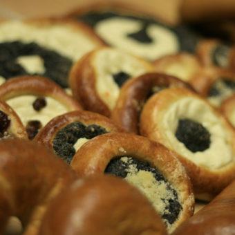 ukázka – sladké i klasické pečivo