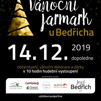 Proběhl vánoční jarmark u Bedřicha